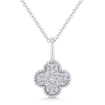Granada Floral Diamond Pendant