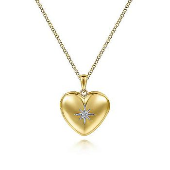 Full Heart Locket Pendant