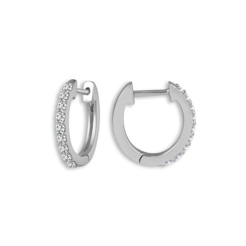 Lasker Diamond Fashion Everyday Luxury Hoops - 0.16CT