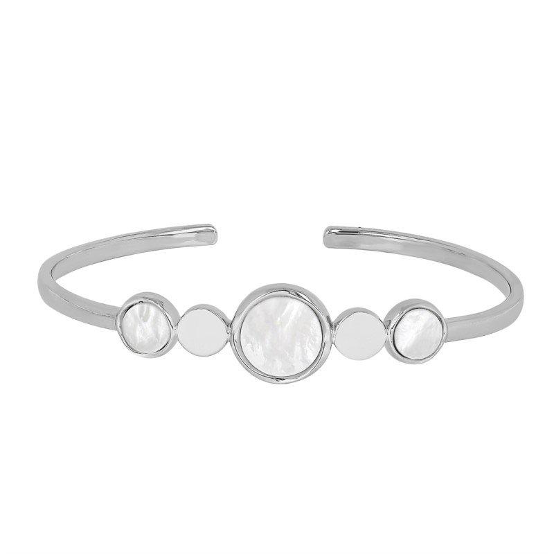 Lasker Pearl Fashion Mother Of Pearl Bracelet