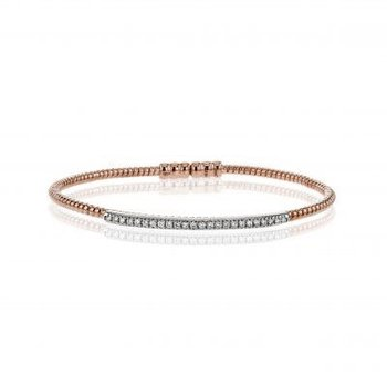 Flex Diamond Bangle