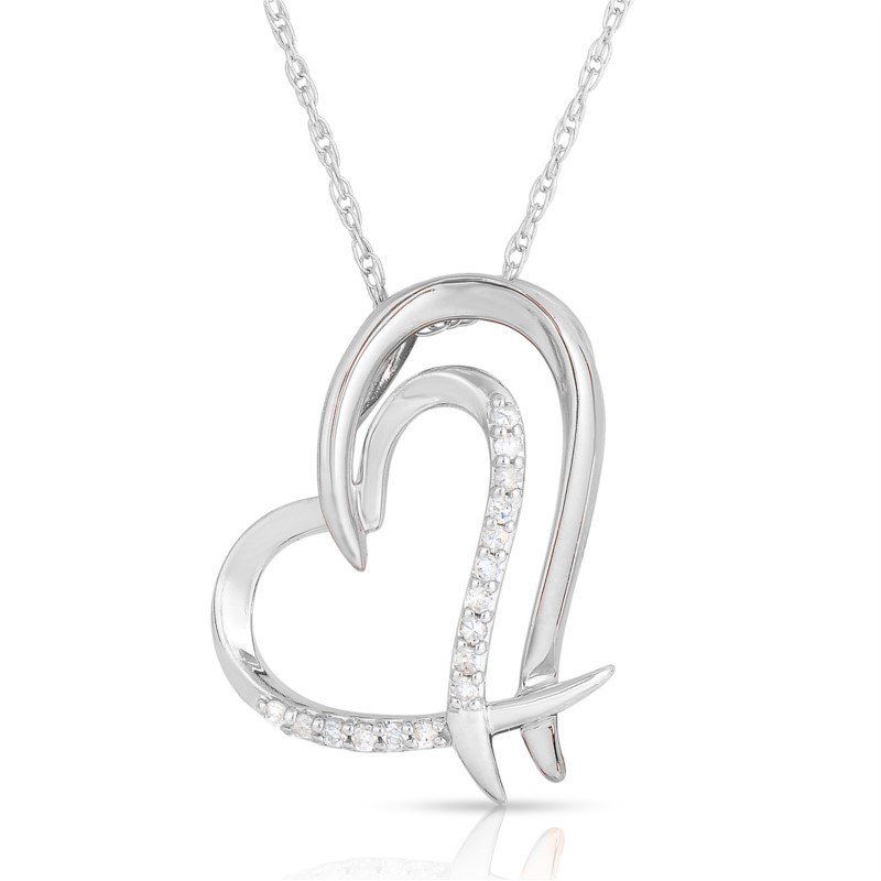 Lasker Diamond Fashion Full Heart Diamond Pendant