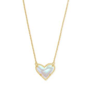 Ari Heart in Dichroic Glass