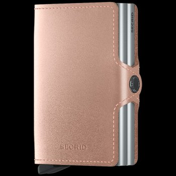 Twinwallet Metallic Rose
