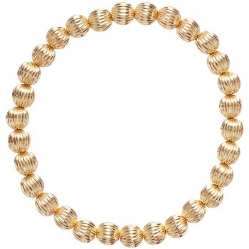 Gold Filled Dignity 6mm Bead Bracelet