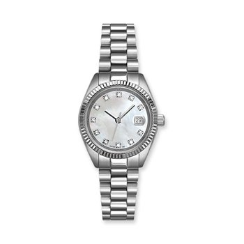 Lasker Stainless Steel Timepiece