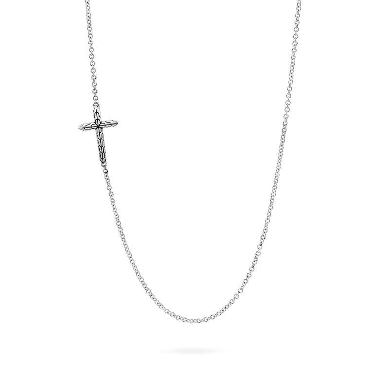 JOHN HARDY Classic Chain Cross Necklace