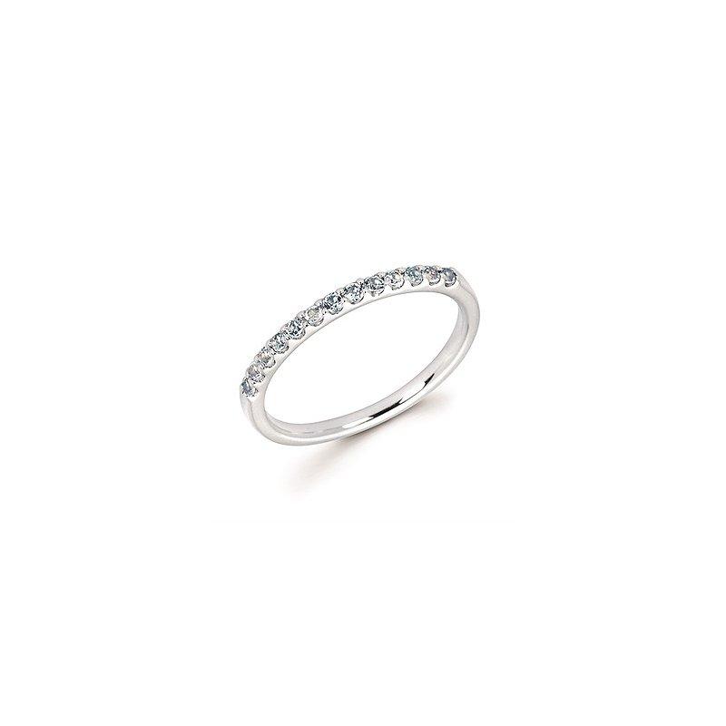 Lasker Gemstone Stackable Birthstone Ring - March
