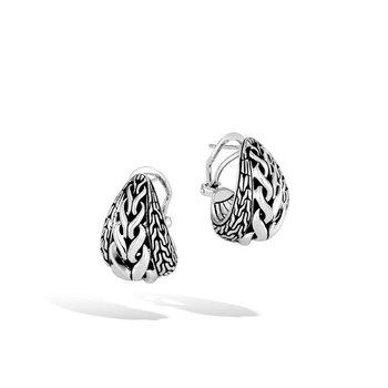 Asli Classic Chain Link Buddha Belly Earrings