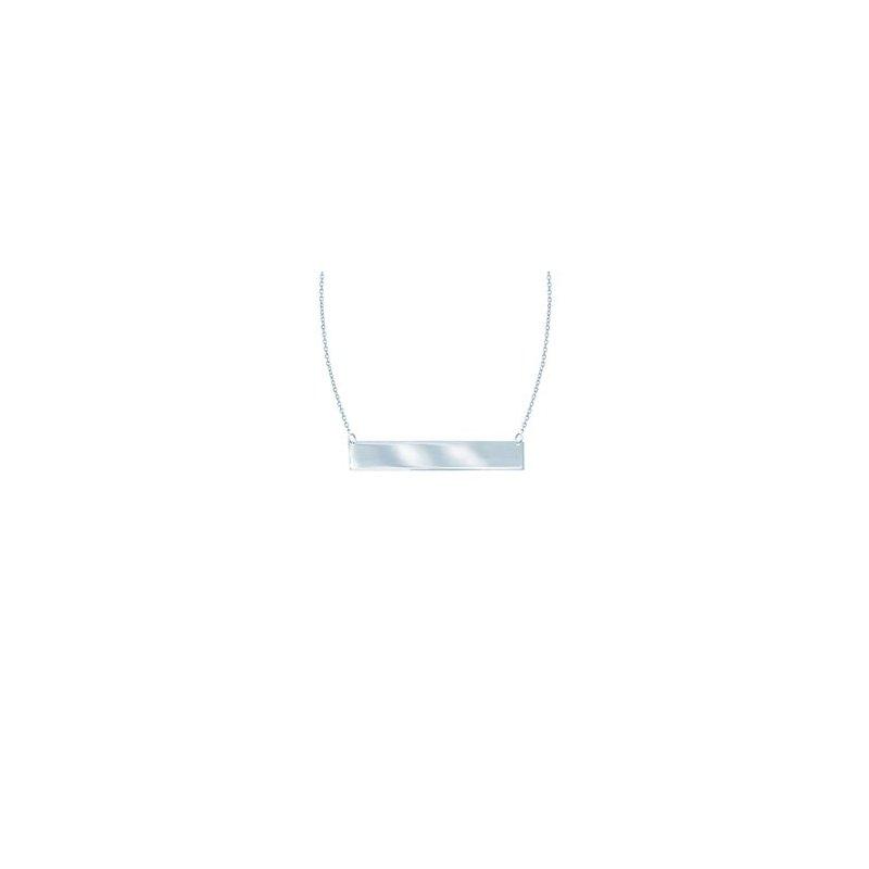Lasker Signature Bar Necklace