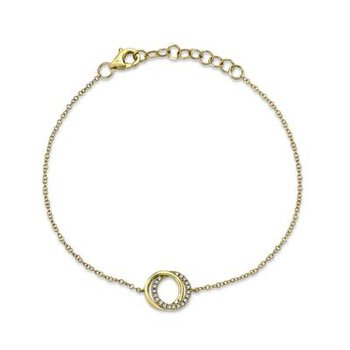 Intersecting Circle Bracelet