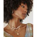 Kendra Scott Demi Silver Charm Necklace In White Baroque Pearl