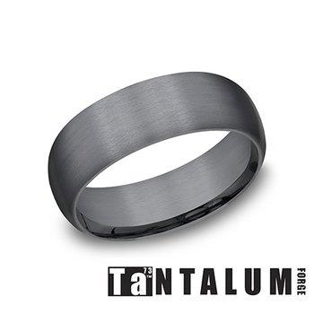 8MM Dark Tantalum Band