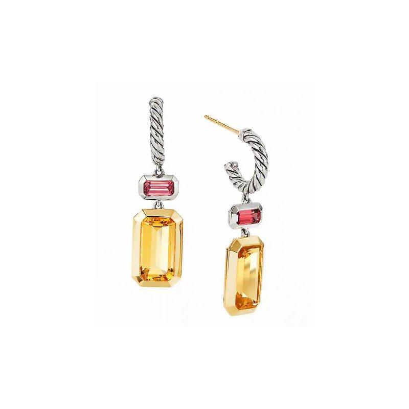 Lasker Gemstone Novella Earrings