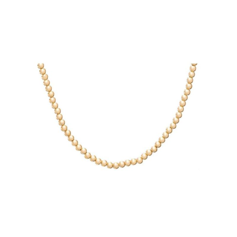 enewton Classic Gold Filled 3mm Bead Necklace 28""