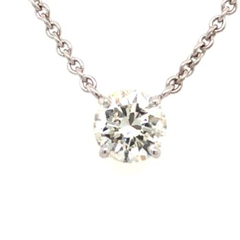 One & Only Solitaire Pendant - 1ct Diamond
