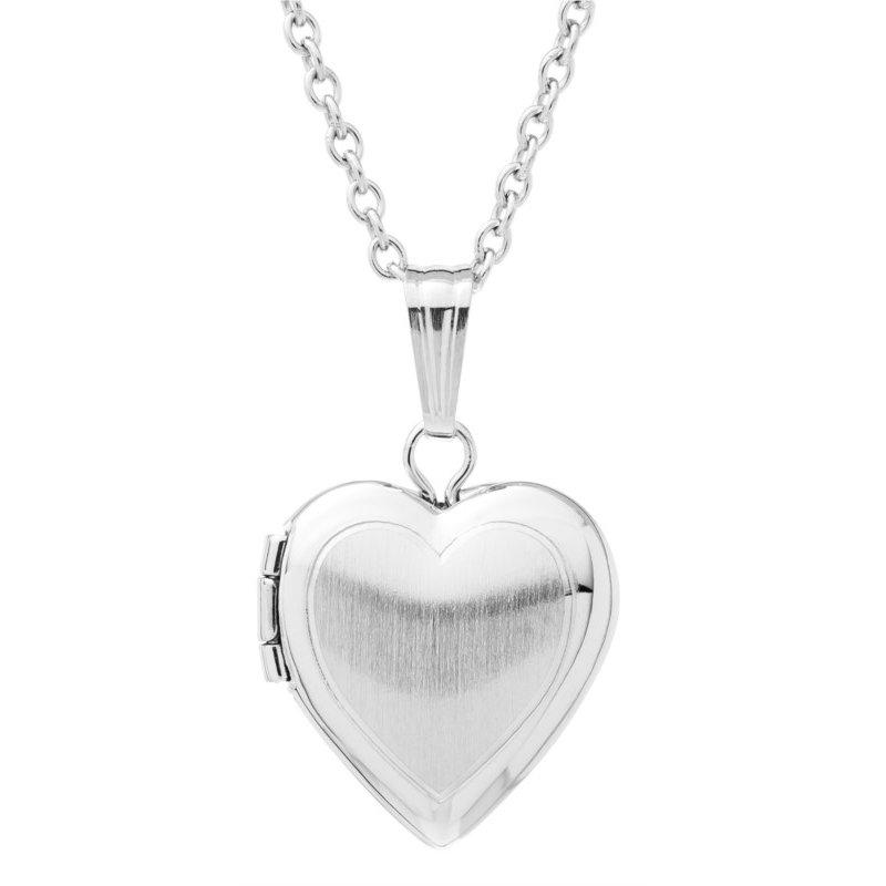 Lasker Signature Heart Locket
