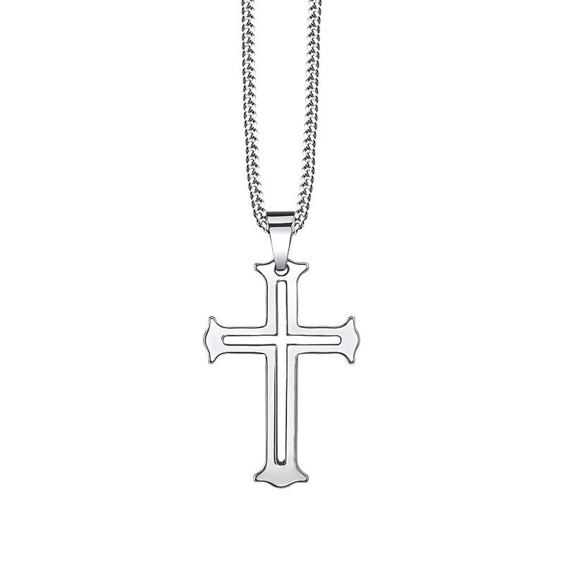 Lasker Men's Gothic Cross Pendant