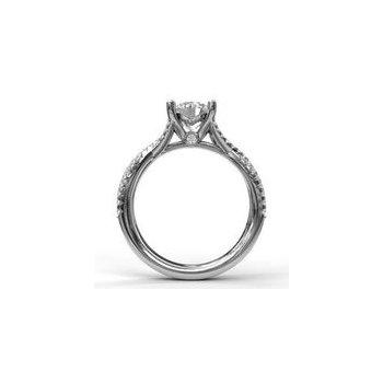 Criss Cross Ring Setting