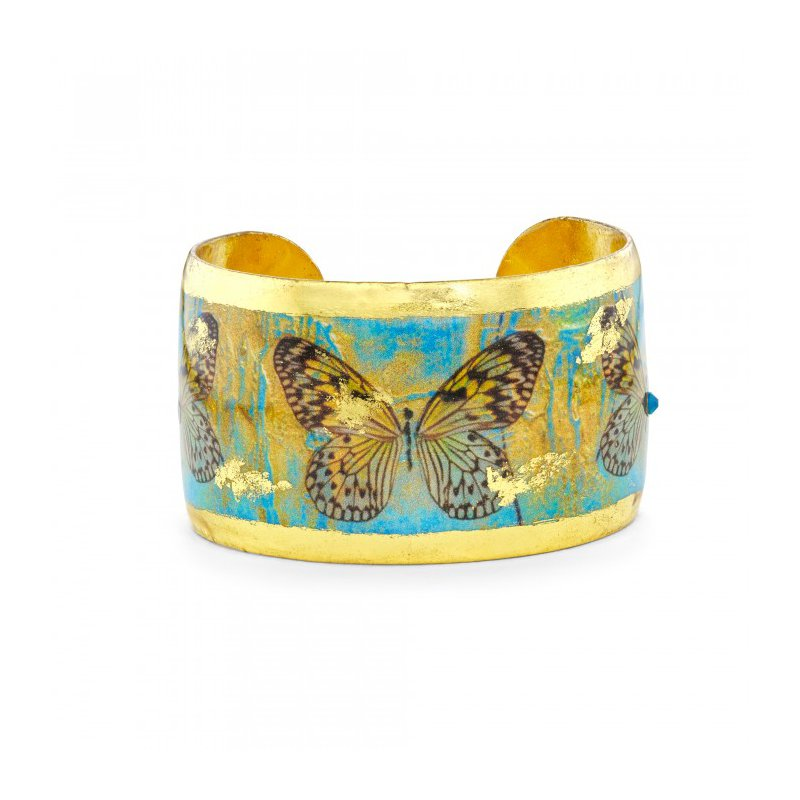 Evocateur Head in the Clouds Butterfly Cuff