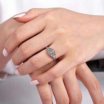 Gabriel Halsey Vintage Ring Mounting