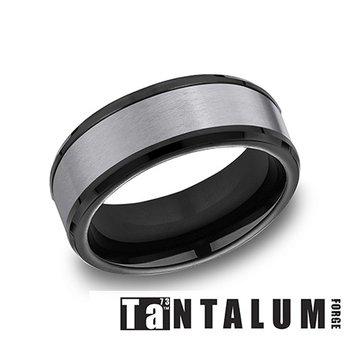 Tantalum & Black Titanium Band