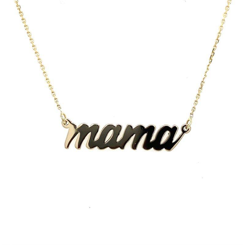 Lasker Gold Fashion Mama Necklace