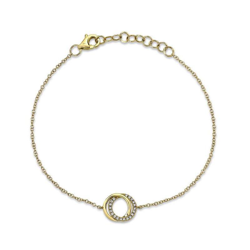 Lasker Diamond Fashion You and Me Bracelet