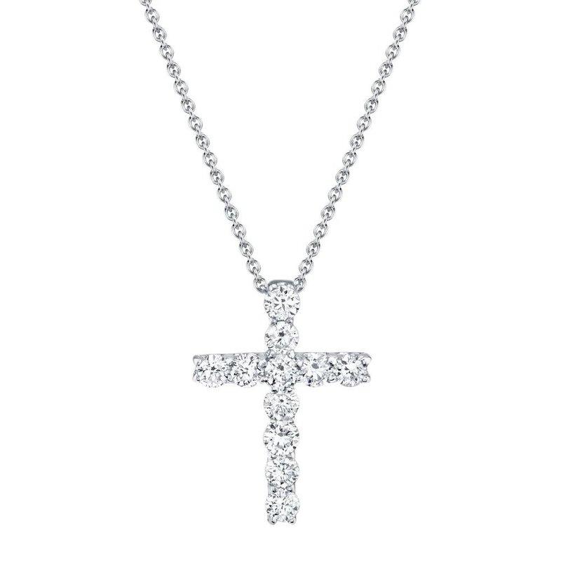 Lasker Diamond Fashion Diamond Cross Pendant