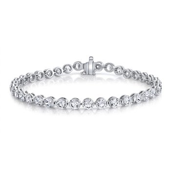 Walk The Line Diamond Bracelet - 5cttw