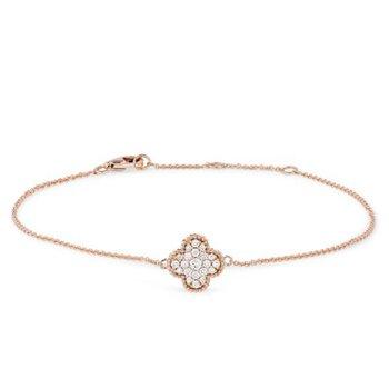 Diamond Granada Floral Bracelet