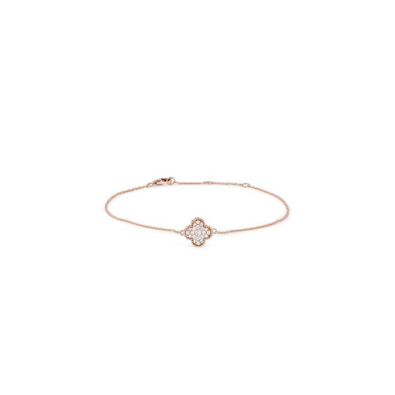 Lasker Diamond Fashion Diamond Granada Floral Bracelet