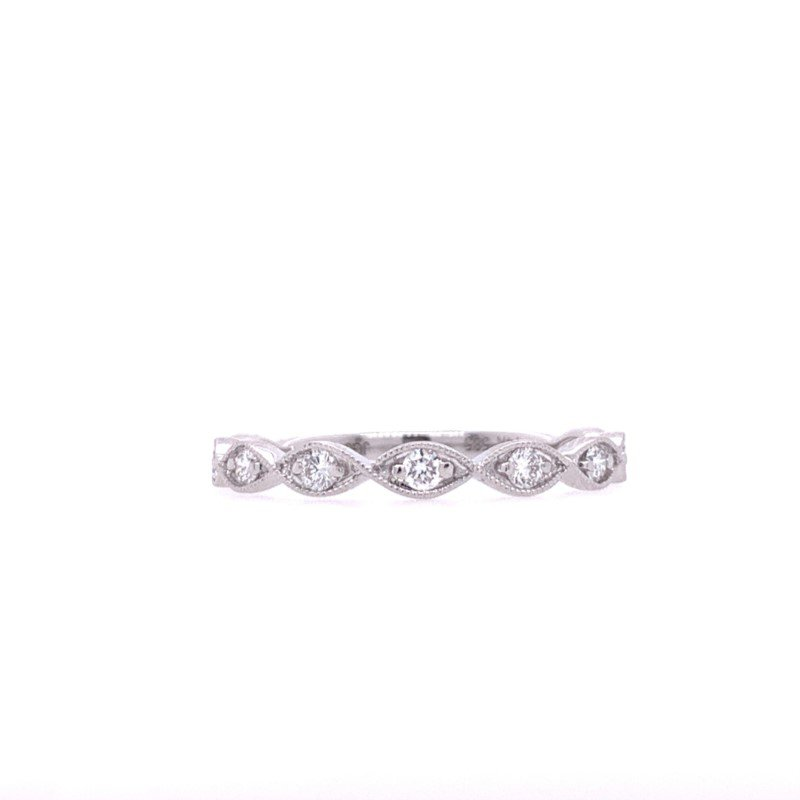 Lasker Bridal Stackable Diamond Band