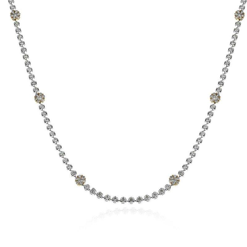 Simon G Grand Diamond Rivera Necklace