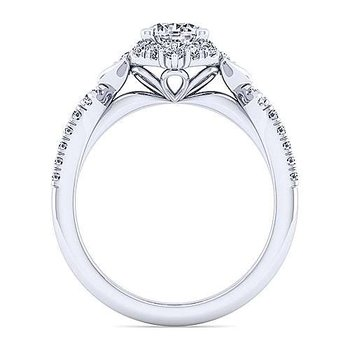 Veronique Tiara Halo Ring Mounting