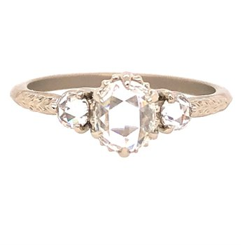 Megan Thorne Evergreen 3-Stone Ring