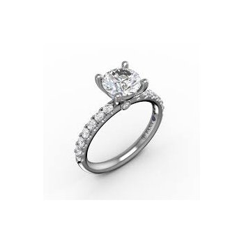 Petite Engagement Ring Mounting