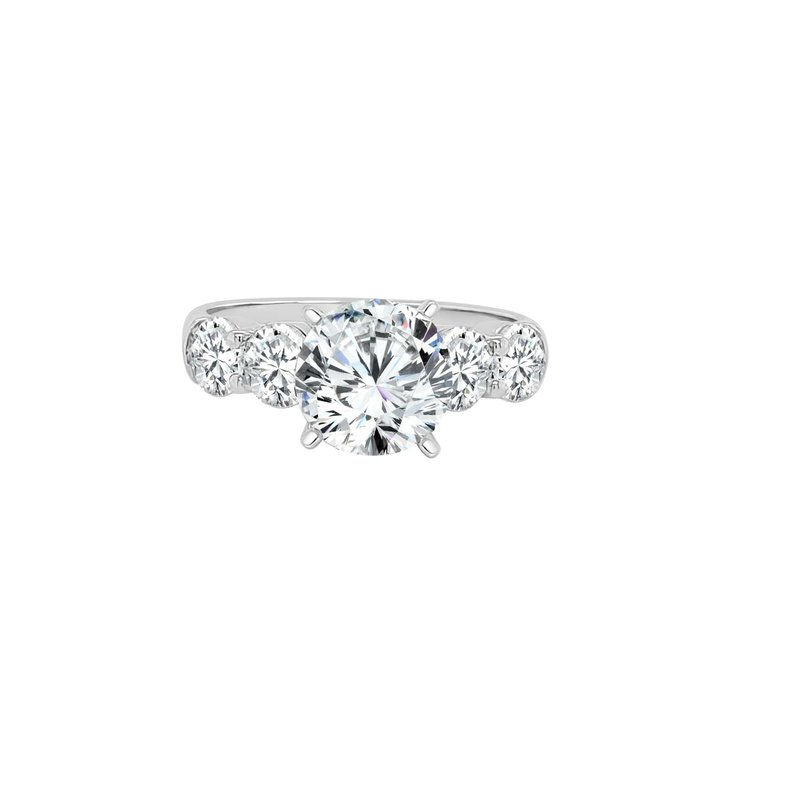 Lasker Bridal Classic Common Prong Ring Mounting - 1cttw