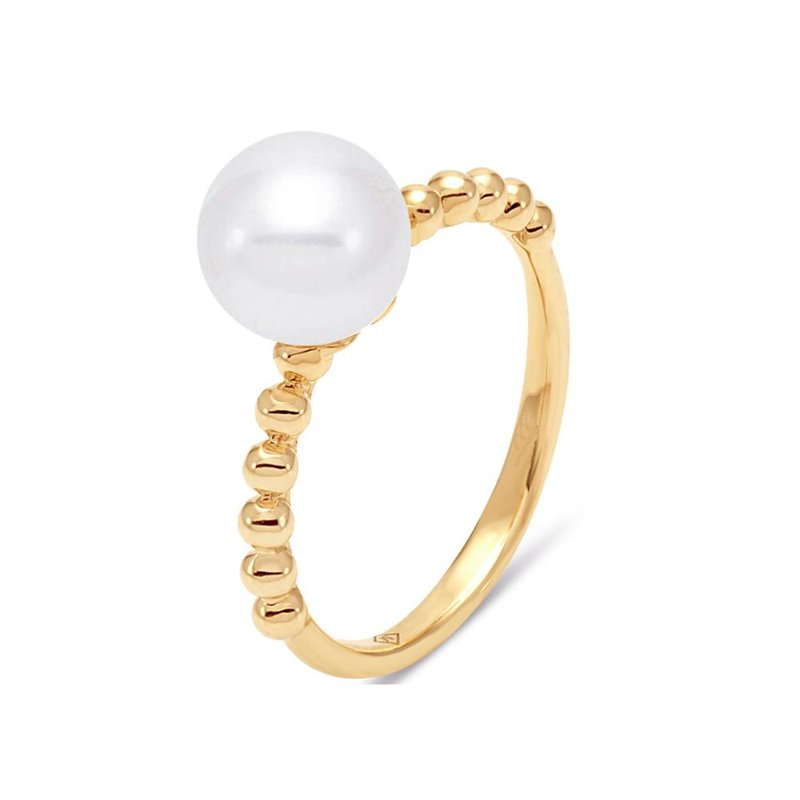 Lasker Pearl Fashion Freshwater Cultured Pearl Ring