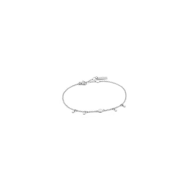 Ania Haie Geometry Drop Disc Bracelet