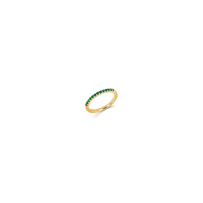 Lasker Gemstone May Stackable Band