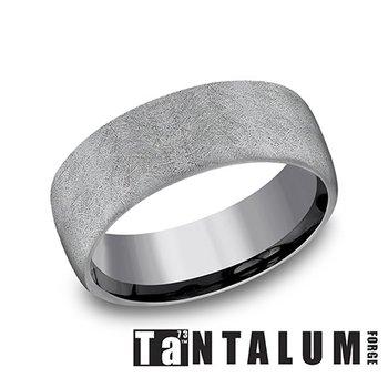 8MM Tantalum Grey Band
