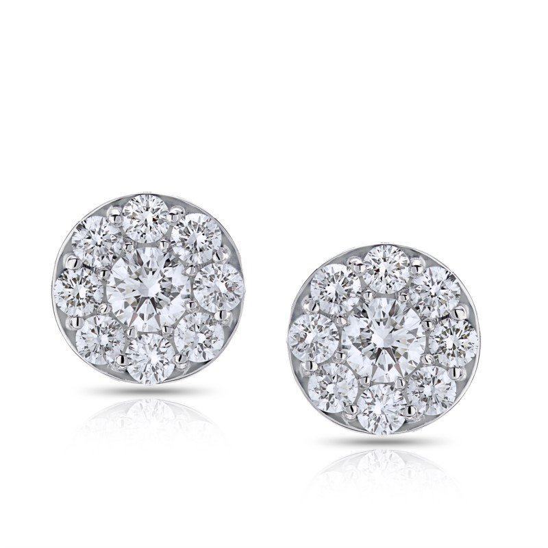 Lasker Diamond Fashion Center of My World Earrings