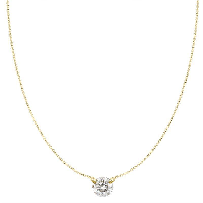 Lasker Diamond Fashion Dancing on Air Diamond Pendant - 1/3CT