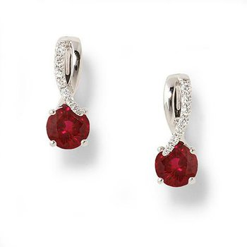 Chatham Ruby Earrings