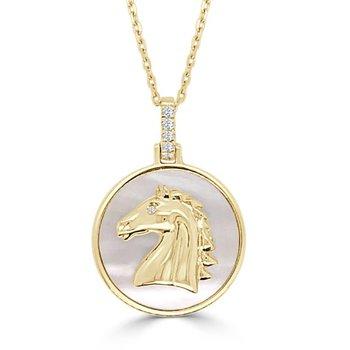 Frederic Sage Horse Pendant