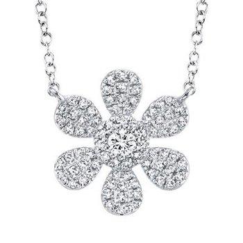 Flower Power Diamond Necklace