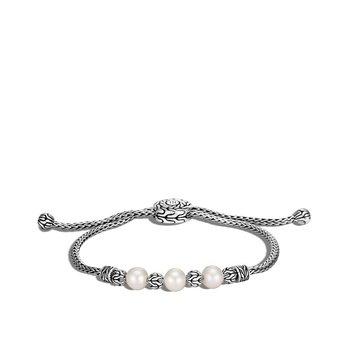 Silver Pull Through Bracelet