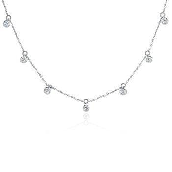 Fire & Ice Station Necklace
