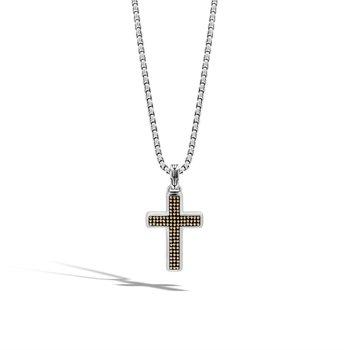 Classic Chain Jawan Cross Pendant